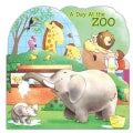 A Day at the Zoo (Board book)
