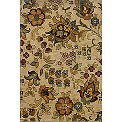 Berkley Beige Transitional Area Rug (6'7 x 9'6)