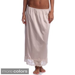 Illusion Women's Lace-trim Half Slip