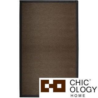 Chicology Audrick Black Coffee Floor Mat (6' x 9')
