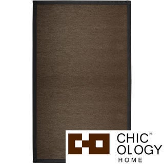 Chicology Audrick Black Coffee Floor Mat (2' x 3')