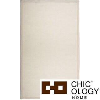 Chicology Audrick Milk/ Tea Floor Mat (2' x 3')