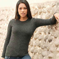 Women's Alpaca Wool 'Onyx Charm' Sweater (Peru)
