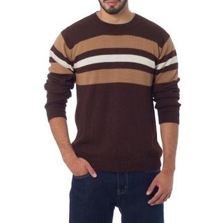 Men's Alpaca Wool 'Andean Voyage' Sweater (Peru)