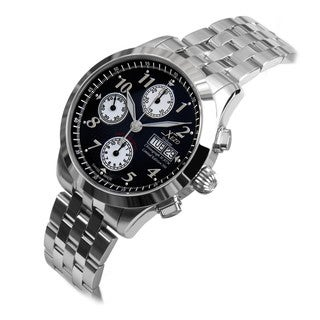 Xezo Men's Swiss Automatic Chronograph B Watch