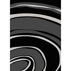 Brilliance Curves Area Rug (7'9 x 11)