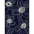 Brilliance Flower Area Rug (7'9 x 11)