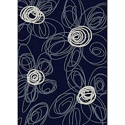Brilliance Flower Area Rug (3'3 x 4'11)