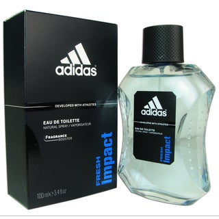 Adidas Fresh Impact Men's 3.4-ounce Eau de Toilette Spray