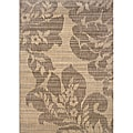 Hayworth Beige/Grey Area Rug (3'10 x 5'5)