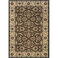 Romana Brown/Ivory Area Rug (3'10 x 5'5)