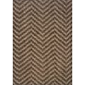 Hayworth Brown/Gray Transitional Area Rug (3'10 x 5'5)