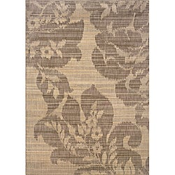Hayworth Beige/Grey Transitional Area Rug (5'3 x 7'6)