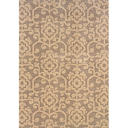 Hayworth Grey/Beige Area Rug (5'3 x 7'6)