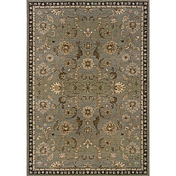 Romana Grey/Brown Area Rug (5'3 x 7'6)