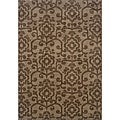 Hayworth Brown/Brown Area Rug (7'8 x 10'10)