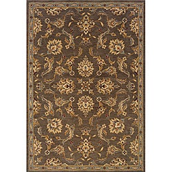 Romana Brown/Blue Area Rug (6'7 x 9'6)