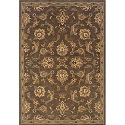 Romana Brown/Blue Area Rug (7'8 x 10'10)