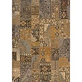 Romana Gold/Grey Area Rug (7'8 x 10'10)