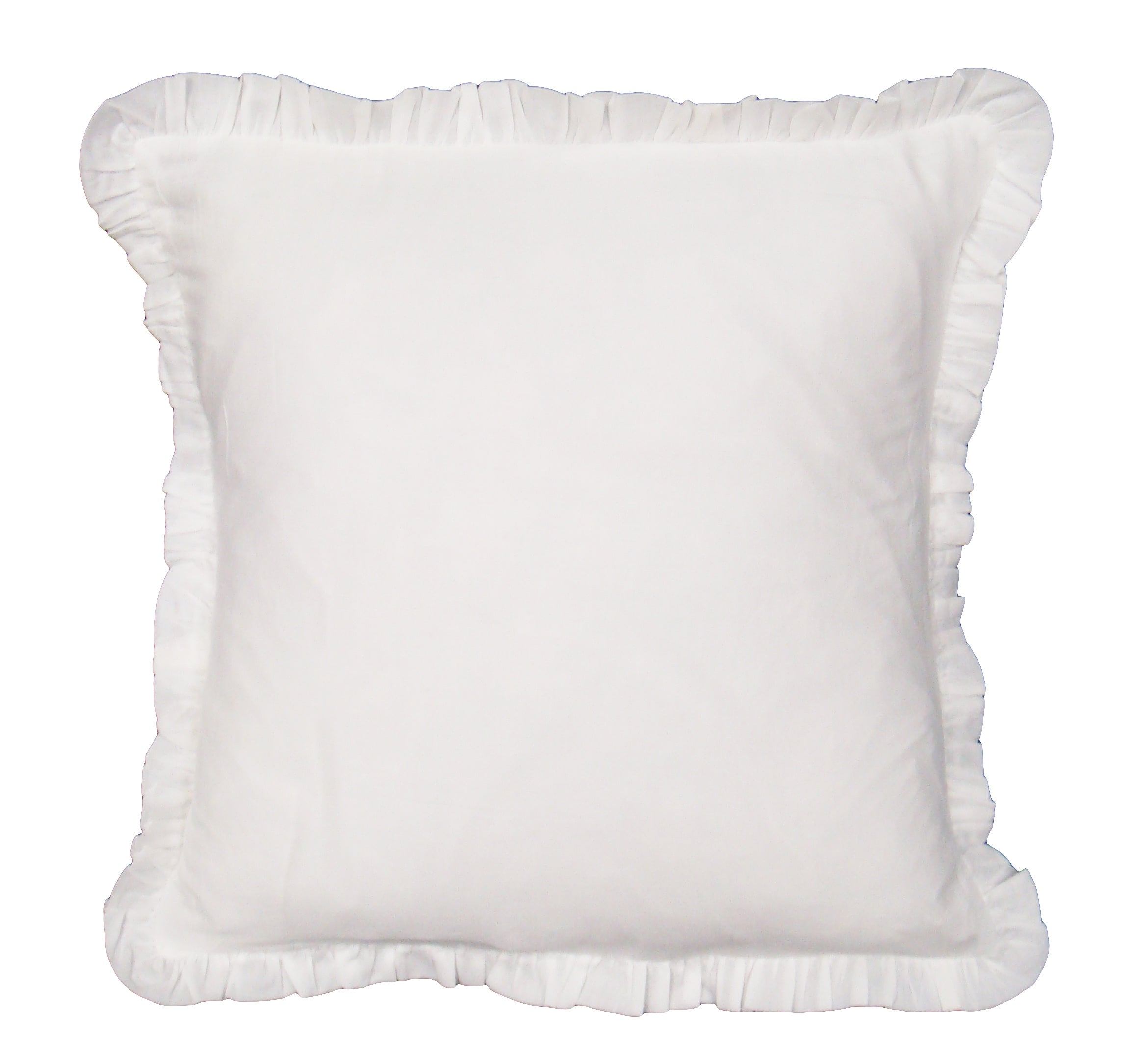 Acelin white decorative pillow 13864978 shopping great deals on cottage home - What is a throw pillow ...