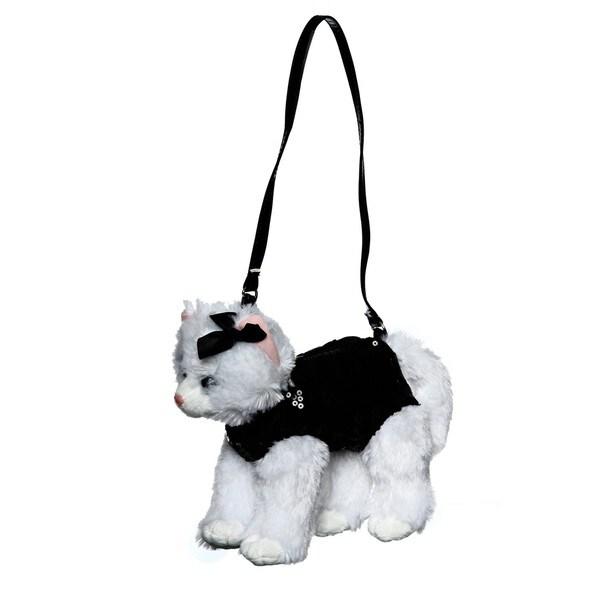 Confetti Girl's Lovable Pet Cat Sequin Bag
