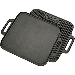 Bayou Classic Cast Iron 14-inch Reversible Griddle