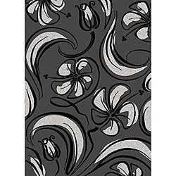 Brilliance Bloom Olefin Area Rug (7'9 x 11')