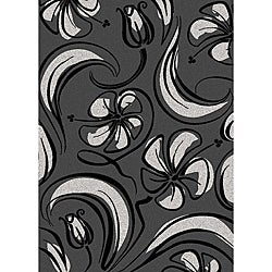 Brilliance Bloom Contemporary Area Rug (3'3