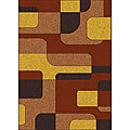 "Modern Brilliance Geo Area Rug (3'3"" x 4'11"")"