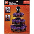 Wilton 'Pick Your Poison' Corrigated 3 Tier Cupcake Stand