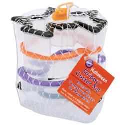 Wilton Comfort Grip Halloween Cookie Cutter Set (Pack of 4)