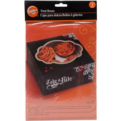 Vampire Bite Halloween Treat Boxes (Pack of 3)
