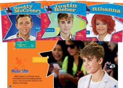 Big Buddy Biographies: Justin Timberlake, Scotty Mccreery, Jennifer Lopez, Rihanna, Bruno Mars, Justin Bieber (Hardcover)