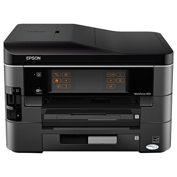 Epson WorkForce 845 Inkjet Multifunction Printer - Color - Plain Pape