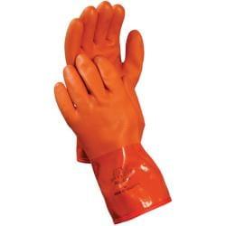 Atlas Snow Blower PVC Xl Orange Glove