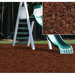 Kidwise Cypress Rubber Playground Mulch