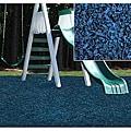 Kidwise Blue Rubber Playground Mulch
