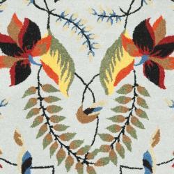 Safavieh Handmade New Zealand Wool Mirage Blue Rug (5'x 8')