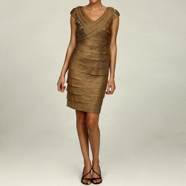 London Times Shimmer Dress