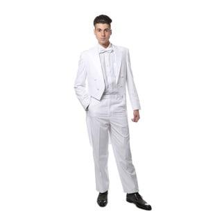 Ferrecci Men's White Tail Tuxedo