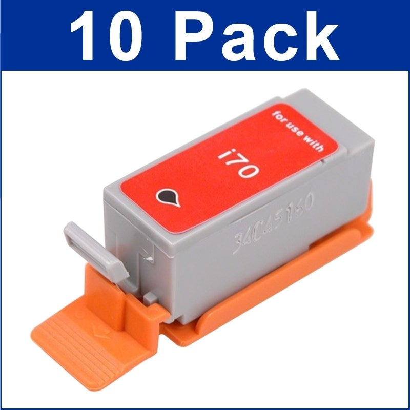 INSTEN Canon Compatible iP90 Black Ink Cartridge (Pack of 10)