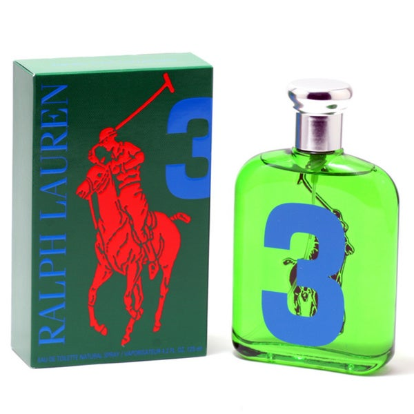 Ralph Lauren 'Polo Big Pony #3 Green' Men's 4.2-ounce Eau de Toilette Spray