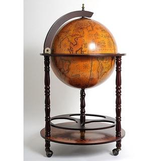Old Modern Handicrafts Globe Drinks Cabinet Floor Stand