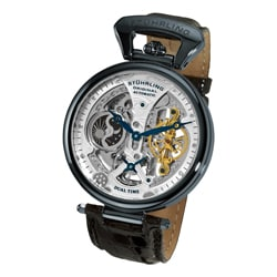 Stuhrling Original Men's Emperor's Grandeur Black Automatic Watch