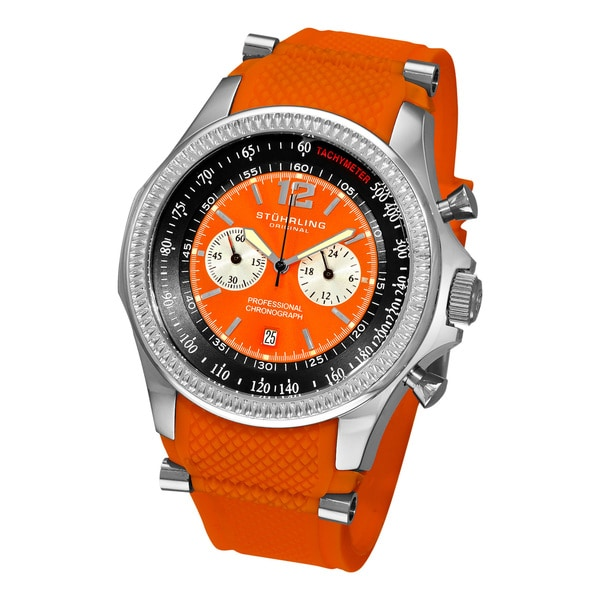Stuhrling Original Men's Targa Sport Quartz Chronograph Watch