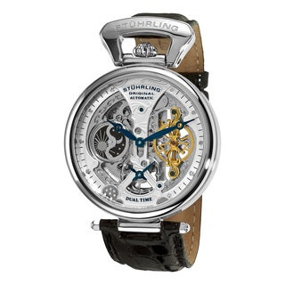 Stuhrling Original Men's Emperor's Grandeur Water-resistant Automatic Watch