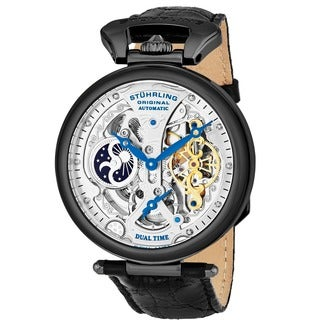 Stuhrling Original Men's Emperor's Grandeur Skeletonized Automatic Watch