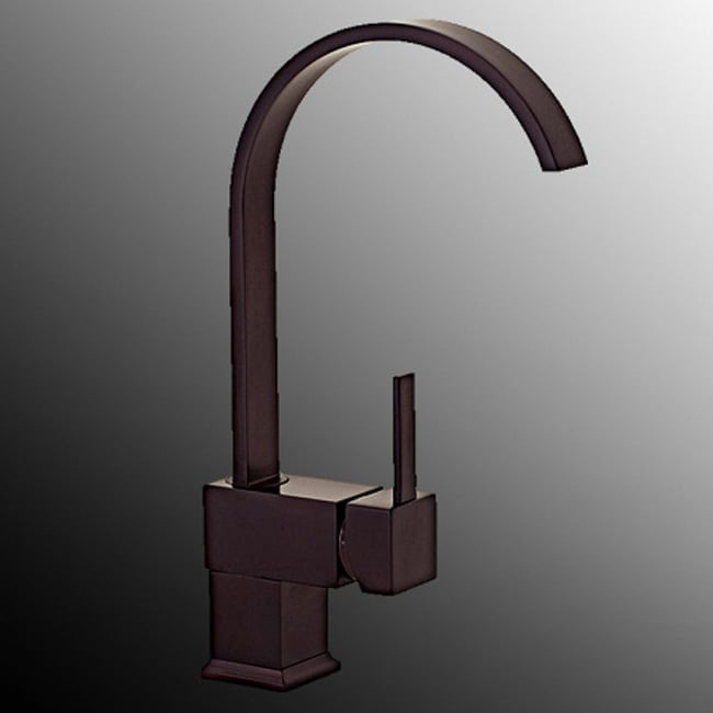 Kokols Single-handle Swivel Oil-rubbed Bronze Kitchen Faucet