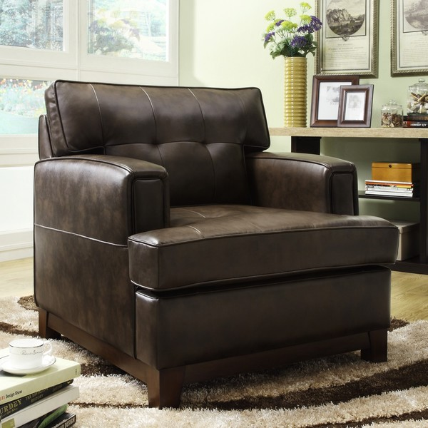 Leighton Bonded Leather Chair