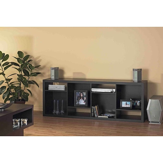 Cappuccino Hollow Core TV Stand or Bookcase